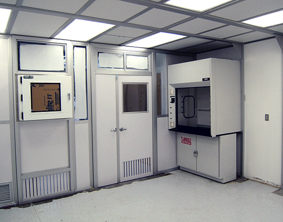 Semi Hardwall Cleanrooms