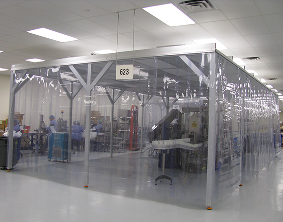 Portable Softwall Cleanrooms