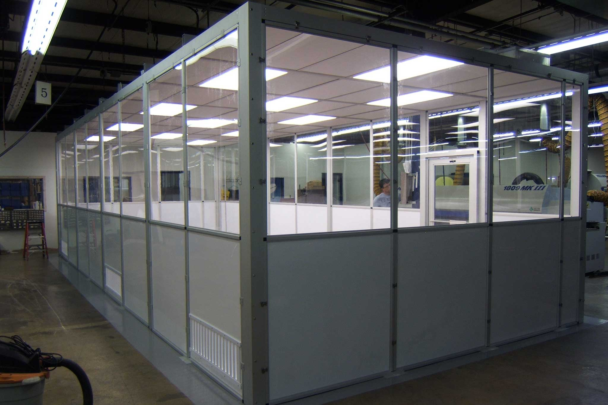 ALX Semi Hardwall Cleanroom